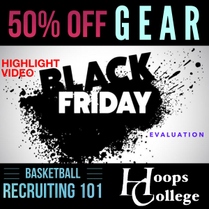 Hoops College Black Friday Coupon